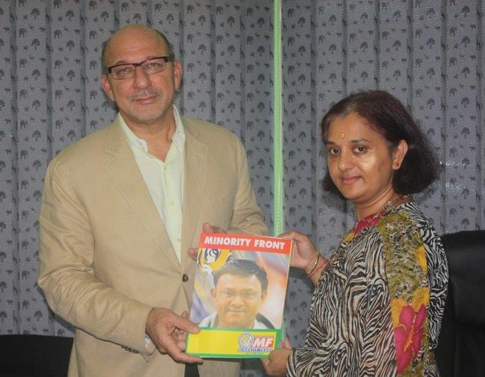 MEC Trevor Manuel celebrates Human Rights Day at MF Offices