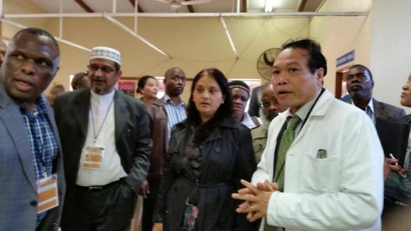 MF Leader Visits Ethekwini Hospitals