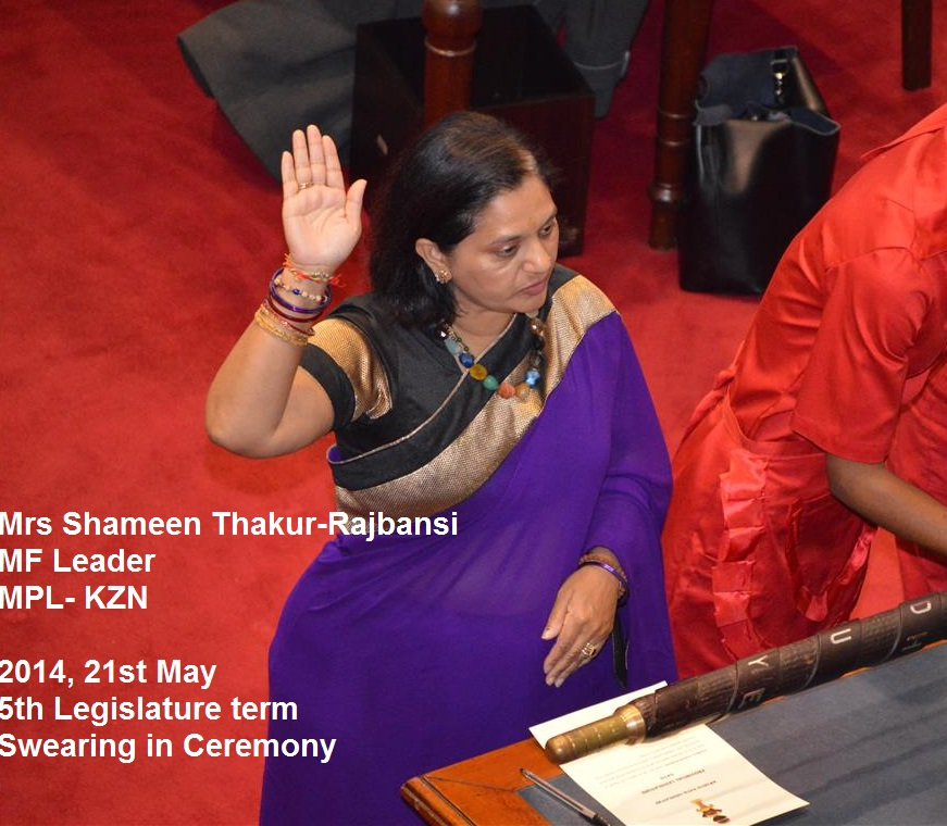 Swearing in of Parliament 2014