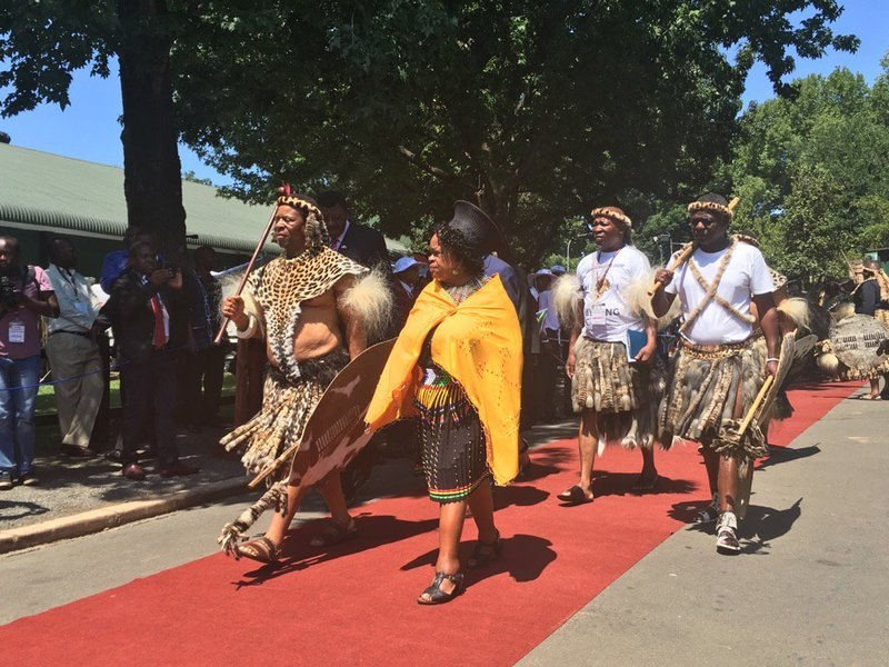 2016 Opening of KZN Legislature at the Pietermaritzburg Royal Show Grounds