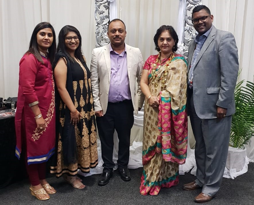MF Leader Mrs Shameen Thakur Rajbansi Was a Guest of Honour and Speaker at The Sri Amman Temple Fundraising Dinner Held at The Enchanted Gardens in Durban Last Night.