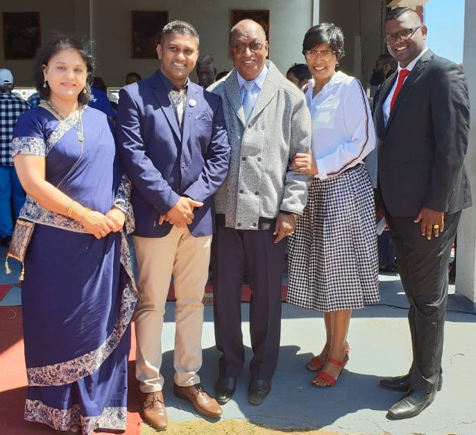 MF Leader Mrs Shameen Thakur-Rajbansi Was a Keynote Speaker at The Funeral Service of the Phoenix Mother and Daughters That Were Murdered On Friday Afternoon (21/09/2018), This Took Place At The Faith Revival Centre in Herencroft, Phoenix on the 29th September 2018