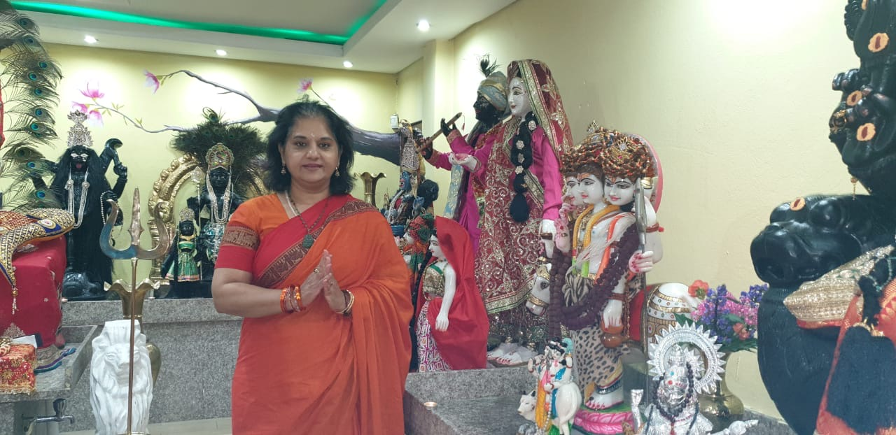 MF Leader Visits The Mohanji Dattatapovan Ashram