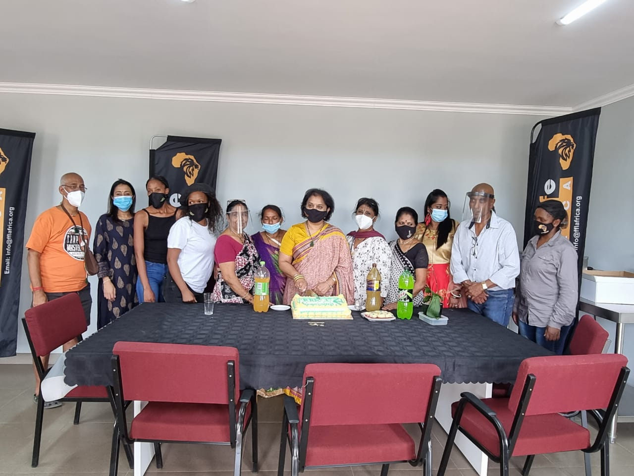 MF Leader Celebrates First Anniversary: Food For Life Africa